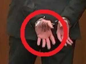 What Derek Chauvin wrote on his hand
