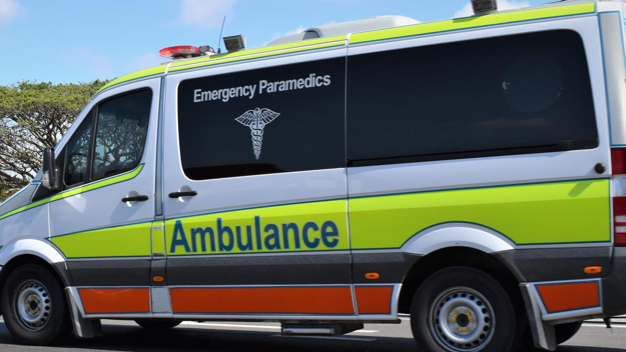 Emergency services have been called to a two-vehicle crash in Walkerston. Picture: Heidi Petith
