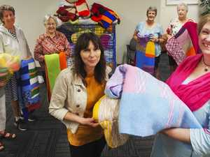 Handmade blankets help ease the cold for abuse survivors