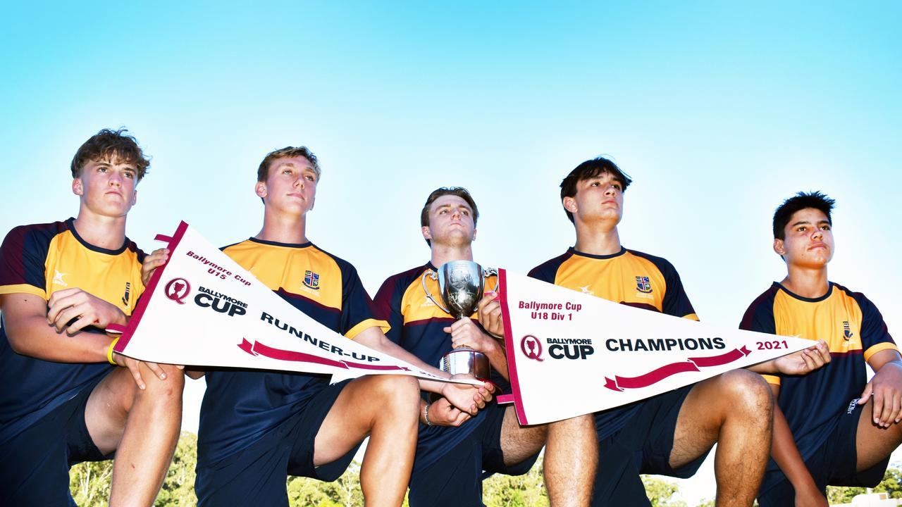 Sunshine Coast Grammar rugby players Zac Nichols, Blake Miller, Kaan Askew, Joseph Wikaira and Nate Hepi were selected in the Ballymore Cup merit team.