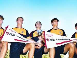 Grammar's famous five make Ballymore Cup merit team