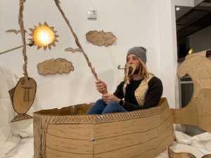 Triple quarantine man finds creative hobby