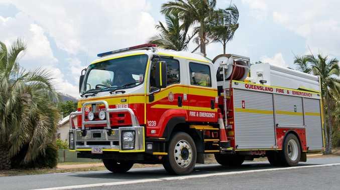 VIDEO: Fire destroys family home near Tin Can Bay