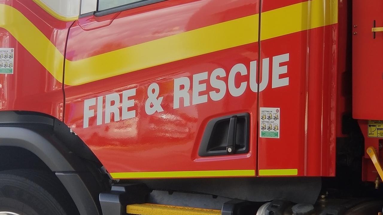 Emergency services were called to the incident in Glenella.