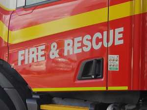 Emergency services called to ute ablaze in Glenella