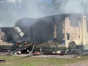 Wallu house fire