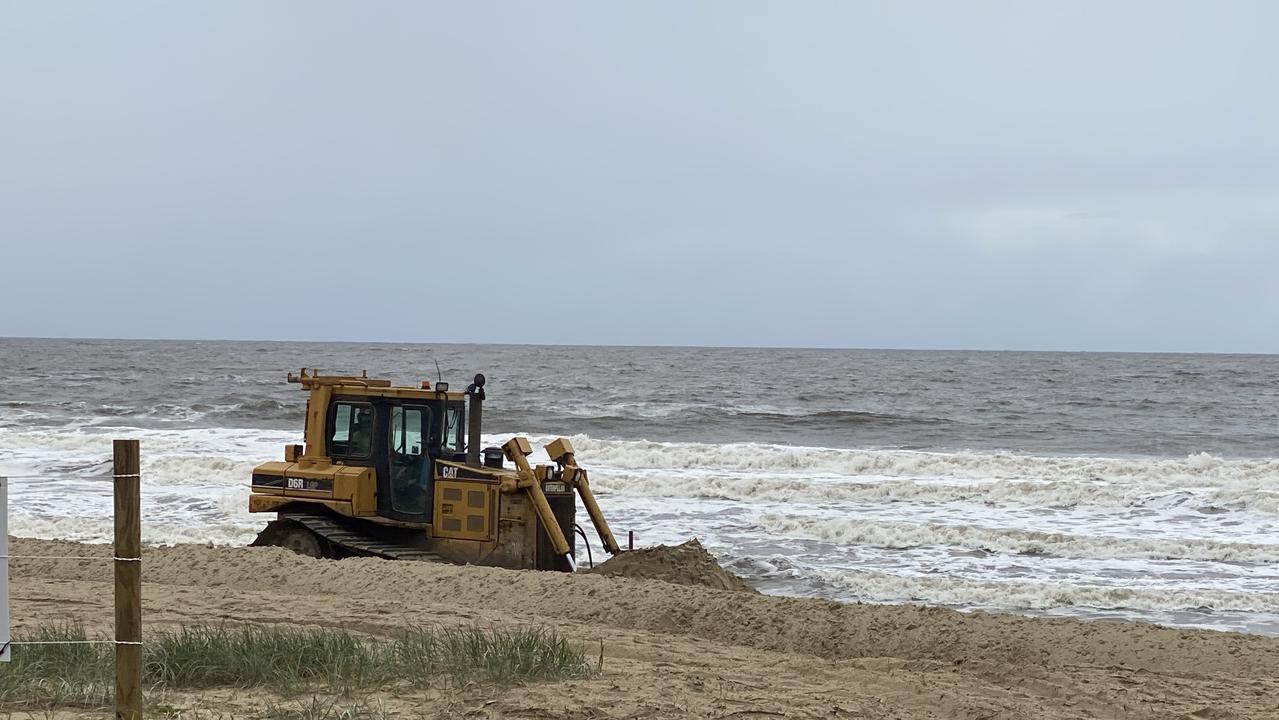 Dune repair works must continue to mitigate against erosion impacts.