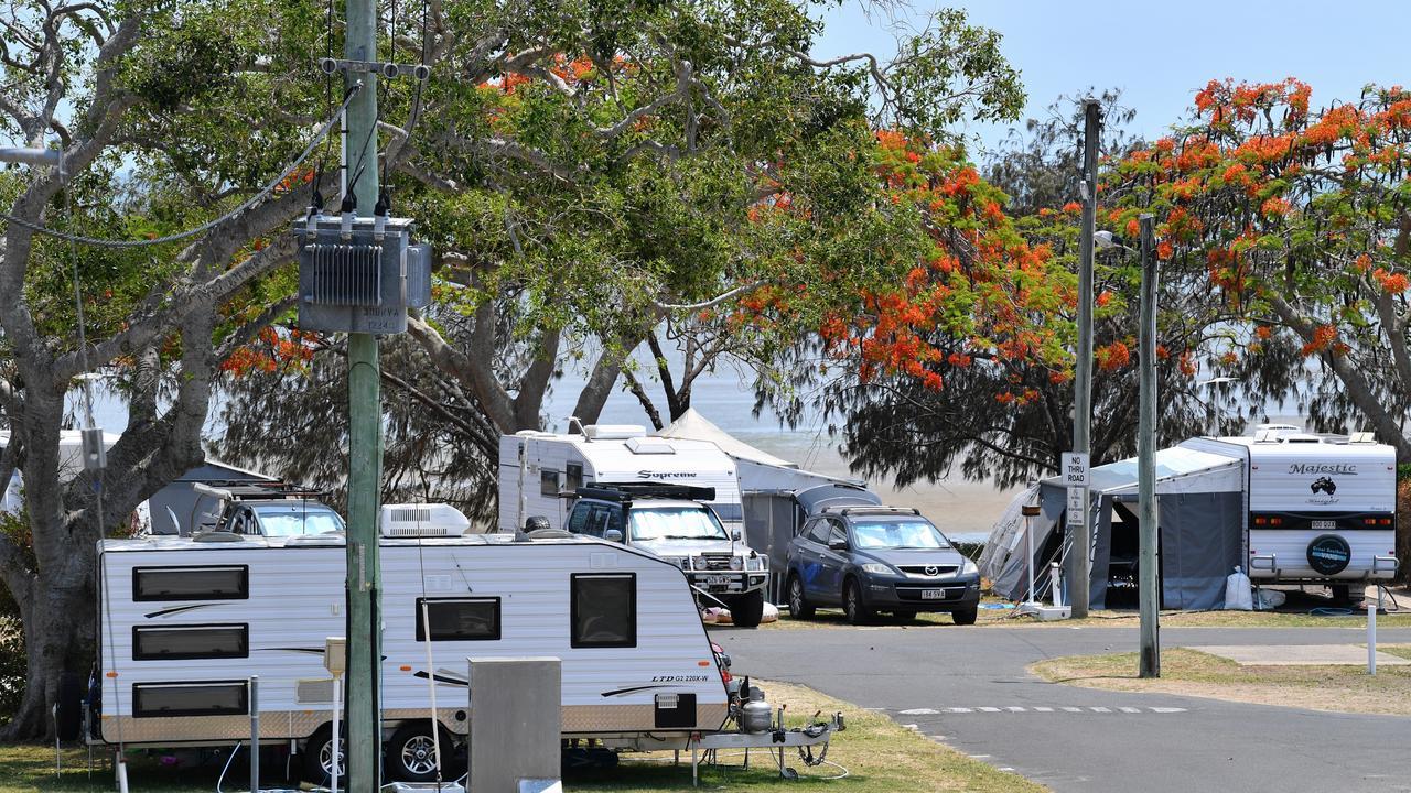 Thieves are giving Pialba Beachfront Caravan Park a bad reputation. Photo: Alistair Brightman
