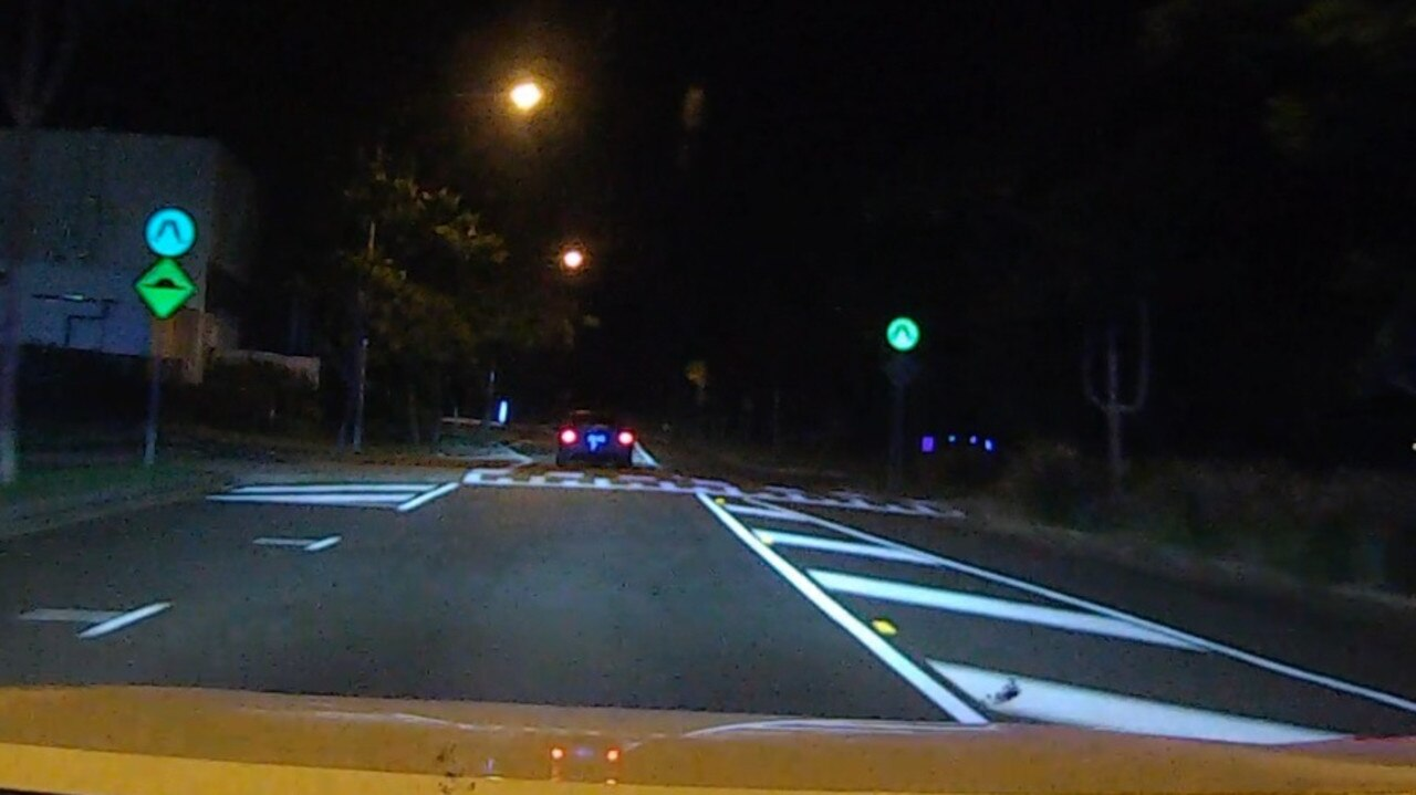 Police are trying to track down the driver of a car which was seen driving dangerously through Springfield on Wednesday night.