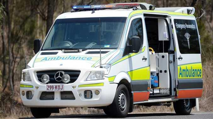 Woman suffers head injuries after southwest caravan crash