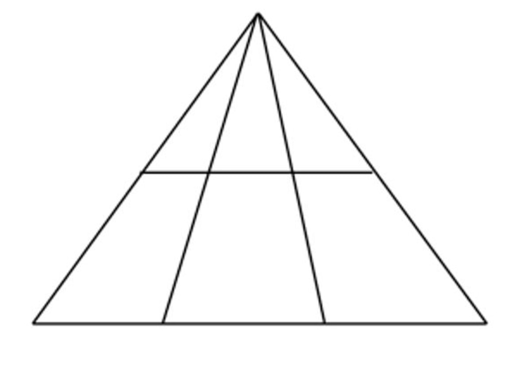 How many triangles can you see in this image? Picture: 3P Learning