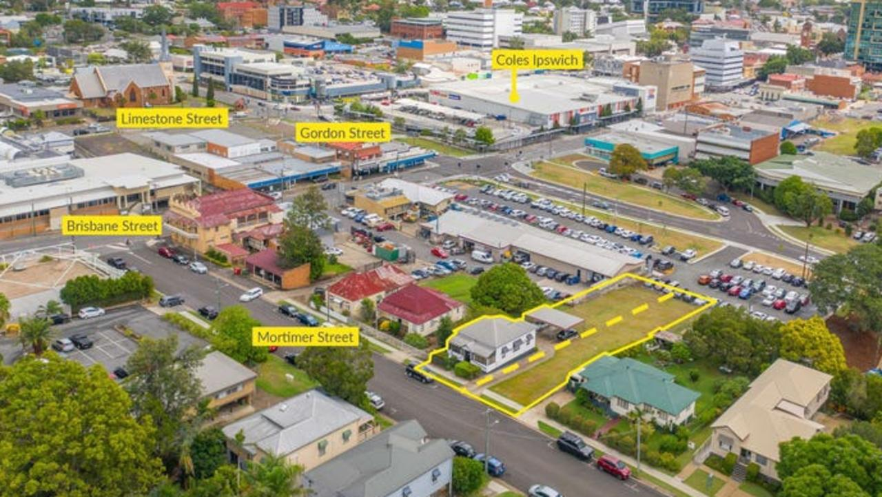 Two years ago, an inner-city Ipswich property was listed for sale but, despite its central location and generous land size, failed to sell.