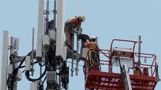 WATCH: 5G towers installed at Maryborough