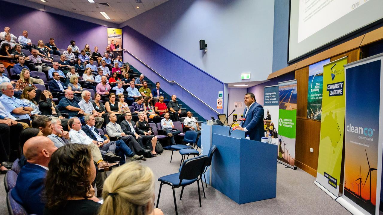 The Energy Futures Summit at Central Queensland University Gladstone Campus. Picture: Photopia Studio