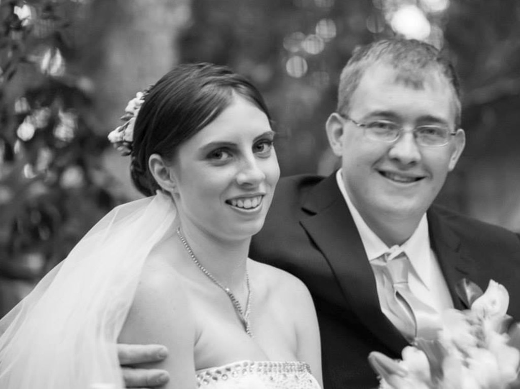 Brian Johnston has been charged with the murder of his former wife Kelly Wilkinson. Picture: Facebook