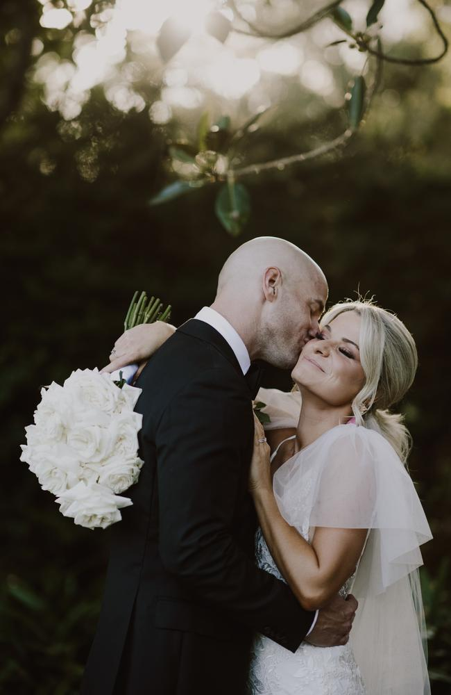 Wedding of Claire Turner and Blair Surmon. Picture: Leah Cruickshank