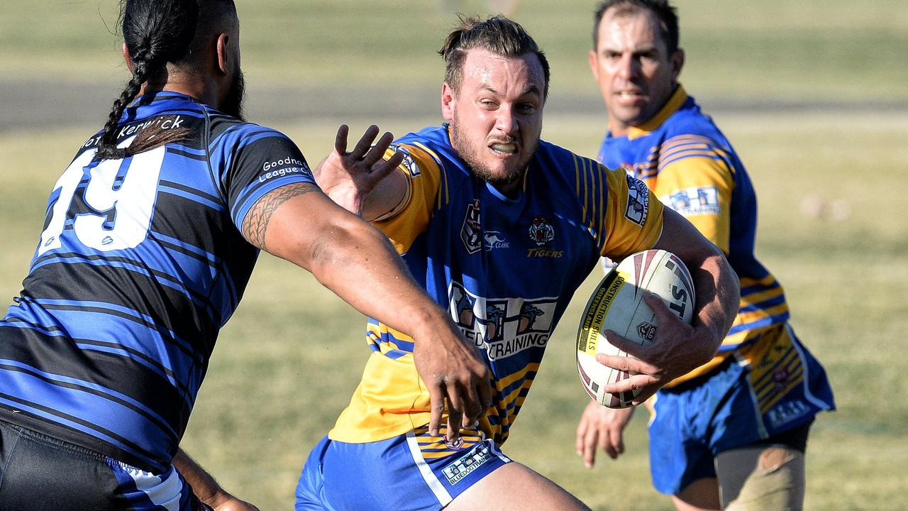 Having lost a number of senior players this season, Norths will be looking to their rising young guns to fend off their challengers in the 2021 Rugby League Ipswich A-Grade competition. Picture: Bruce Clayton