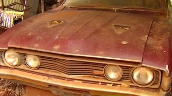 Rare car resting in Mary Valley could fetch half a million
