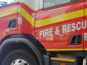Emergency services rush to Coast house fire