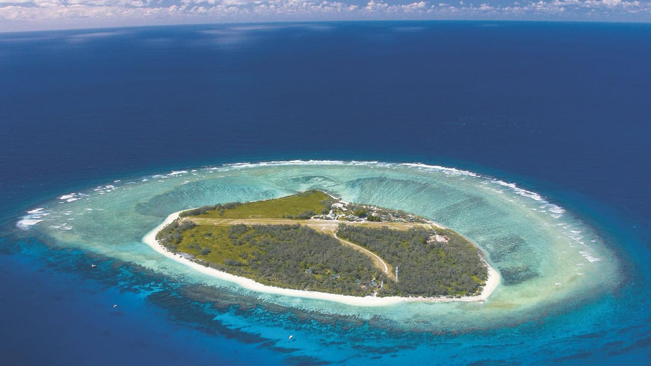 Lady Elliot Island on the Southern Great Barrier Reef. Picture: contributed