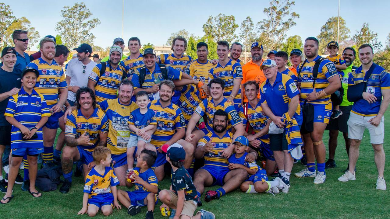 The Norths Tigers will be fielding a vastly different side to the one that made last year's Volunteers Cup grand final. Picture: Bruce Clayton