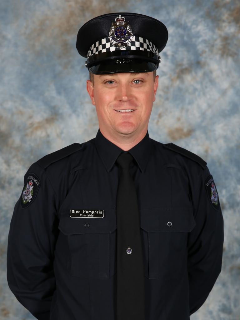Constable Glen Humphris.