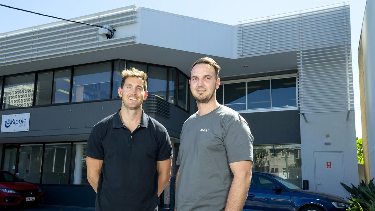 Graya founders Andrew Gray and Rob Gray. Picture: Renae Droop