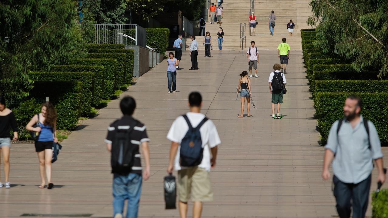 With an estimated 160,000 student visa holders still stuck outside Australia, landlords near universities are still feeling the pinch.