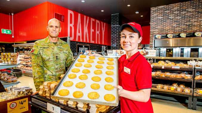 Bakery buys chip in for battling veterans