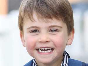 Hidden Harry dig in royal birthday snap