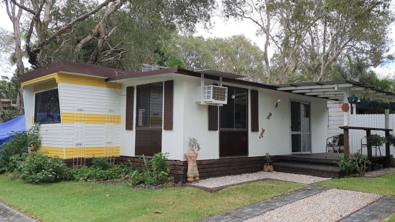 If you think you have been priced out of the celebrity and surfie haven of Byron Bay, think again. This 'property' costs under $200,000.