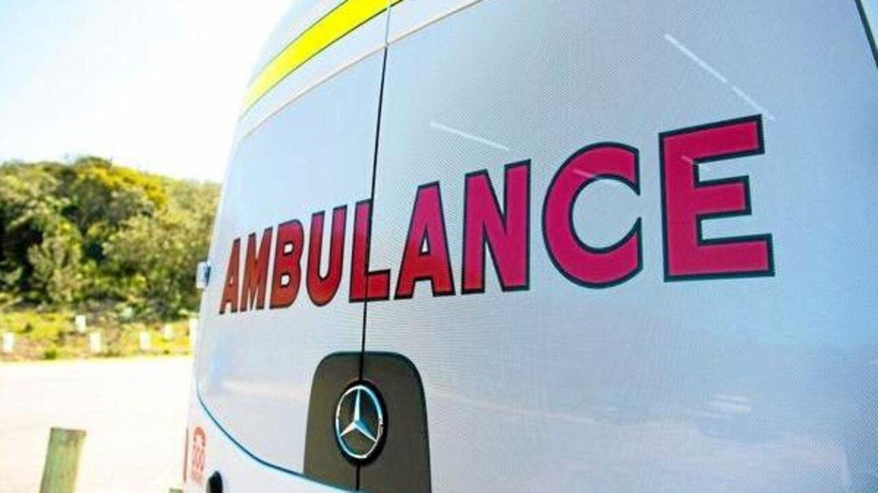Paramedics were called to Moffat Beach.