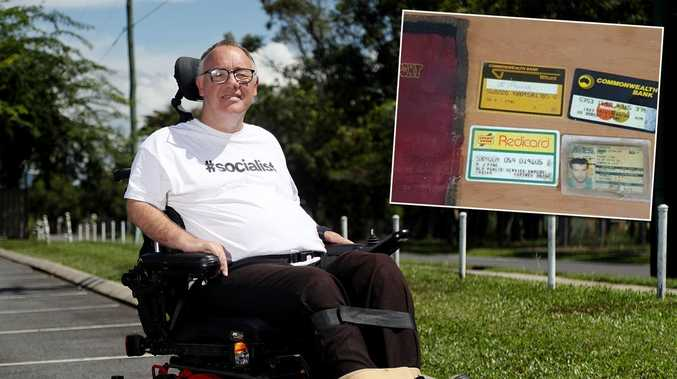 Miracle find 30 years after accident that left ex-MP in wheelchair