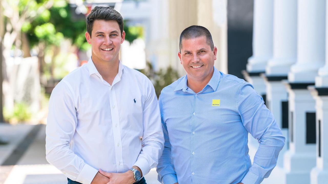 Ray White Rockhampton principals Riley Neaton and David Bell. Picture: Contributed