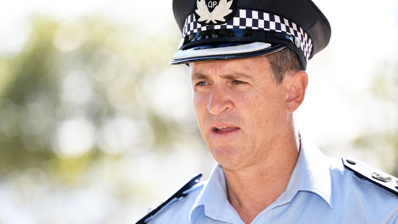 Sunshine Coast Police District Superintendent Craig Hawkins.