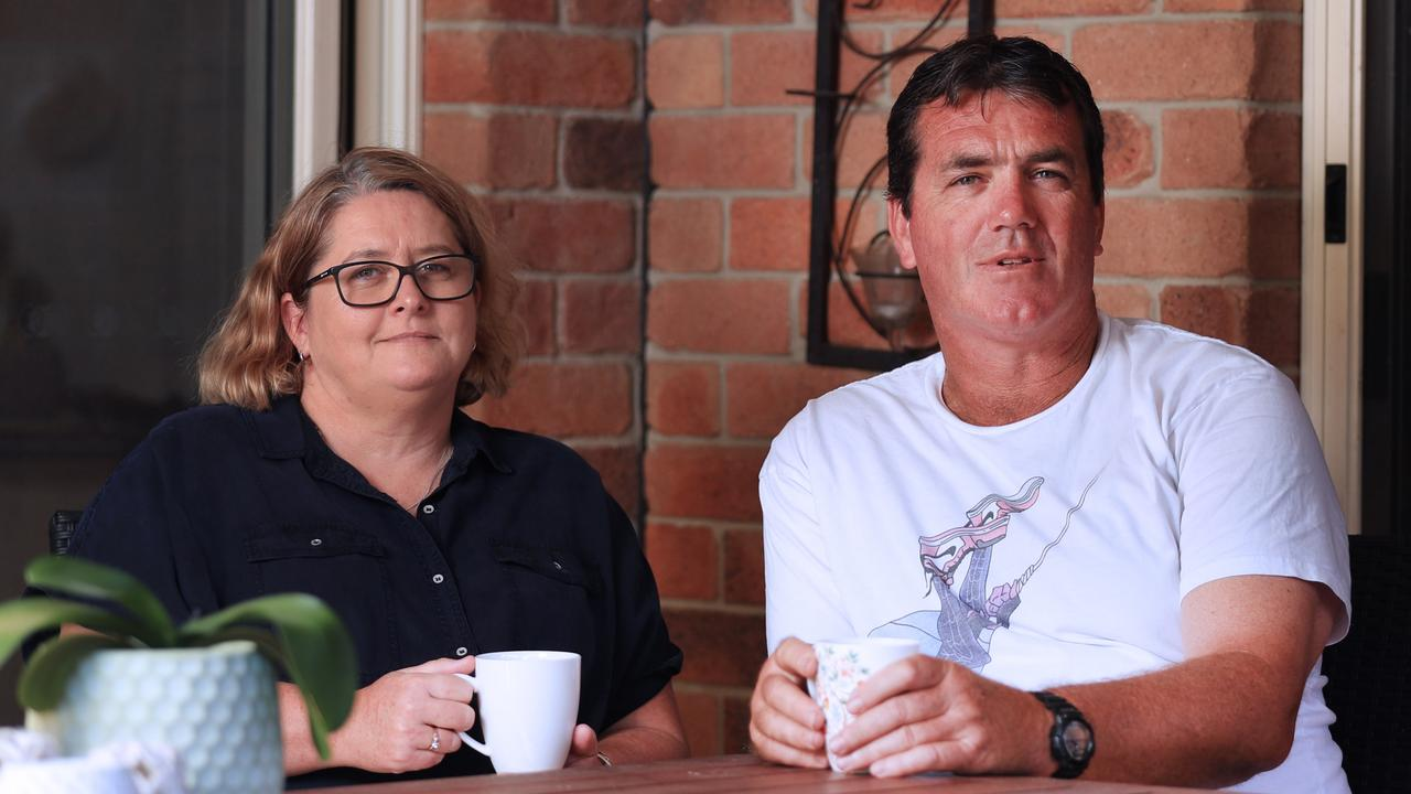 Tanya and Chris Fairleigh from Banora Point NSW, talking about the death of their daughter Anna Fairleigh from Sudden Death from Epilepsy (SUDEP). Picture: Scott Powick/Newscorp