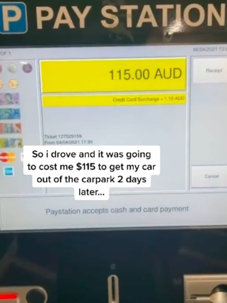TikTok user shares genius way to avoid parking fees. @jackblarred via TikTok