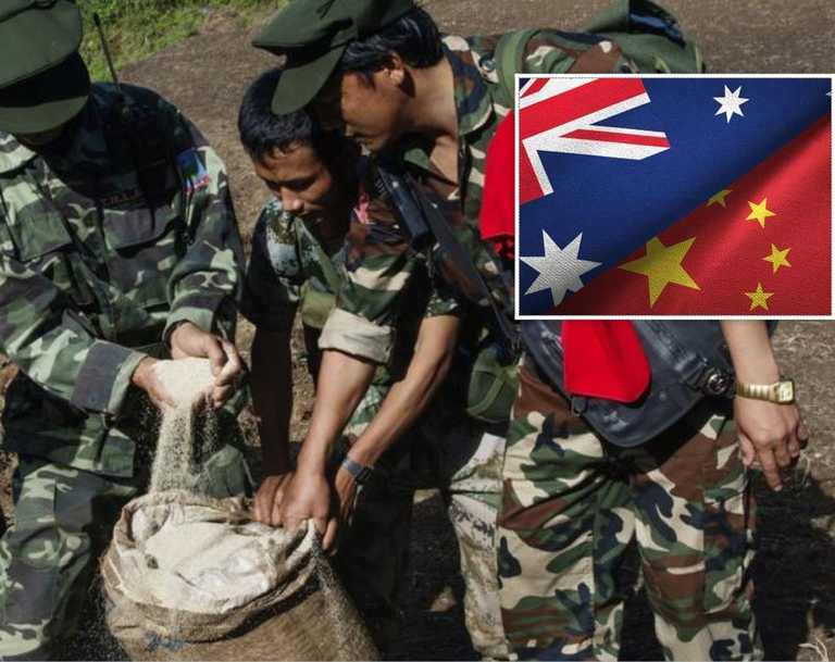 Australian drug lords funnelling cash through Belt and Road