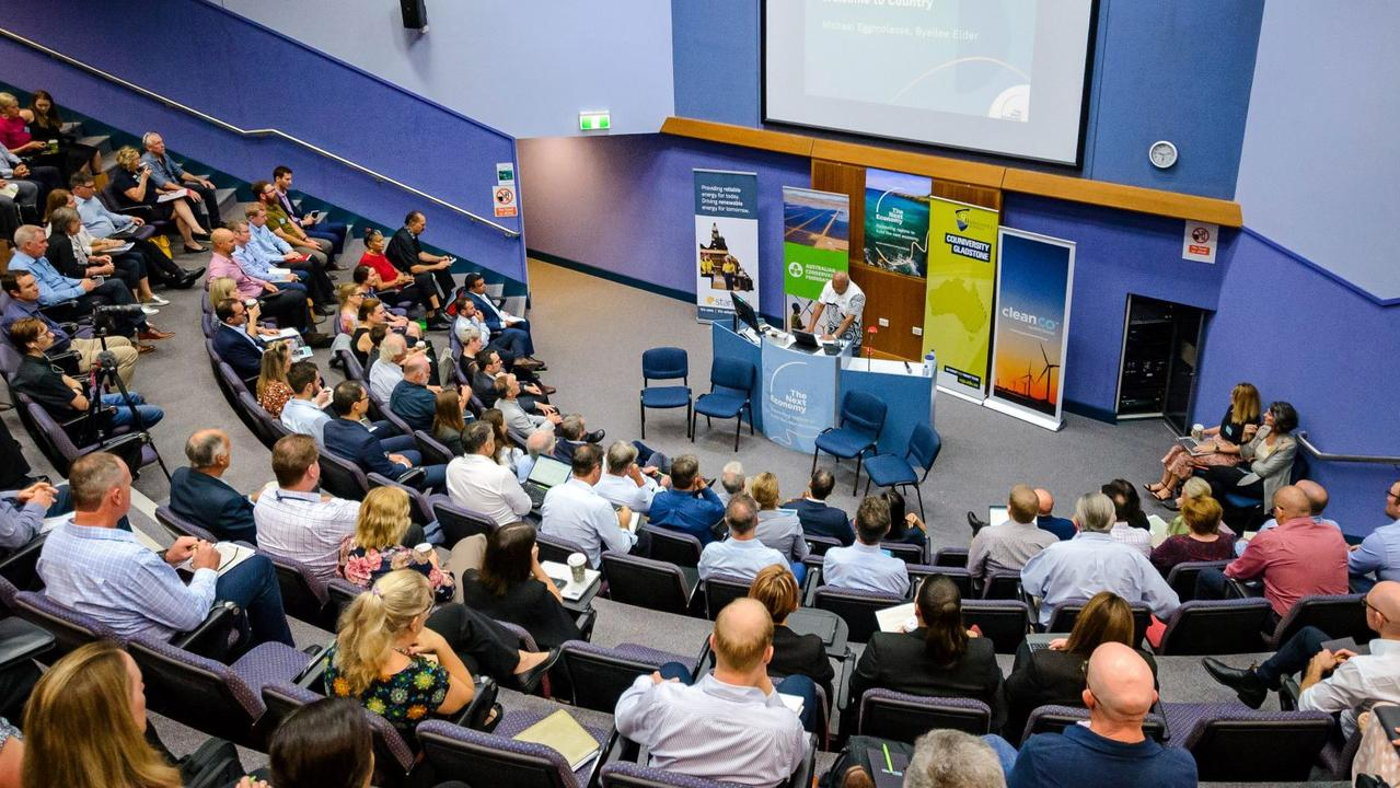 The Central Queensland Energy Summit at Central Queensland University, Gladstone.