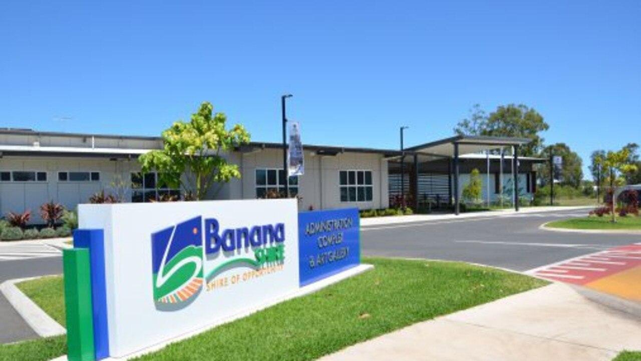 Banana Shire Council Administration Building.