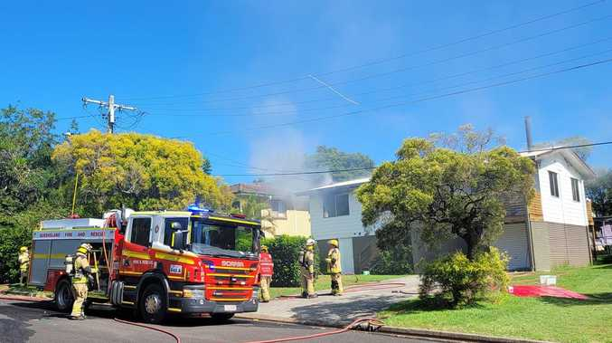 Fireys respond to second house fire in suburb