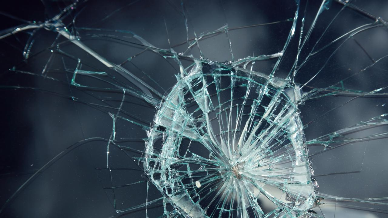 Braydn James Mulholland shattered the shopfront glass with a punch. GENERIC FILE PHOTO.