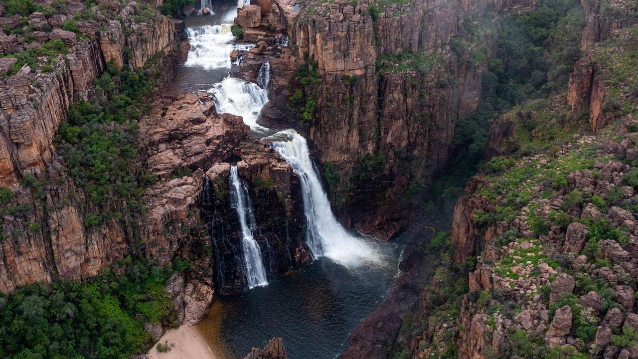 Twin Falls at Kakadu National Park will open this year for the first time in years. Picture: Che Chorley