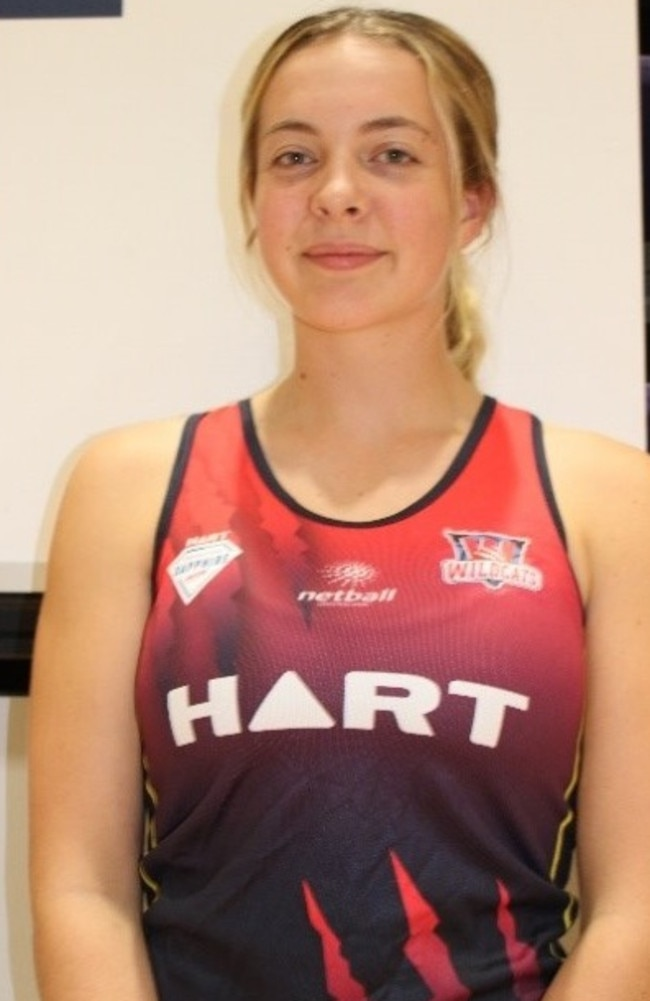 Lillyana Rennie of the Wildcats. Picture: Supplied