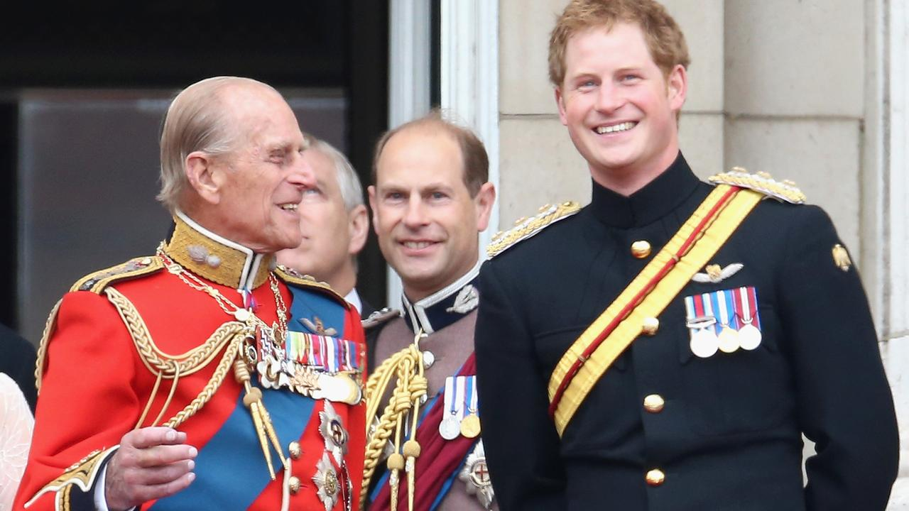 Prince Philip and Prince Harry were thought to be very close. Picture: Chris Jackson/Getty Images