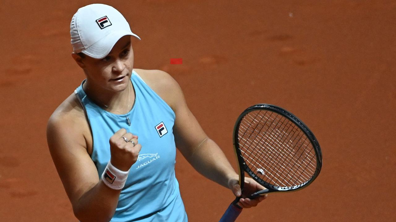"Ash Barty displayed her ""never give in"" attitude by ripping the heart out of another top 10 rival in an ominous showing on clay."