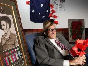 War hero's Anzac Day wish comes true