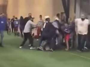 Football coach sucker-punches parent