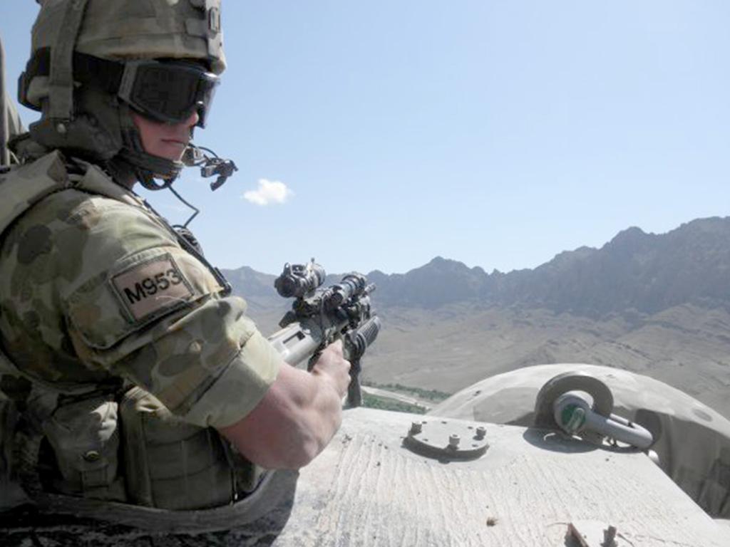 Paul Langer in Afghanistan.