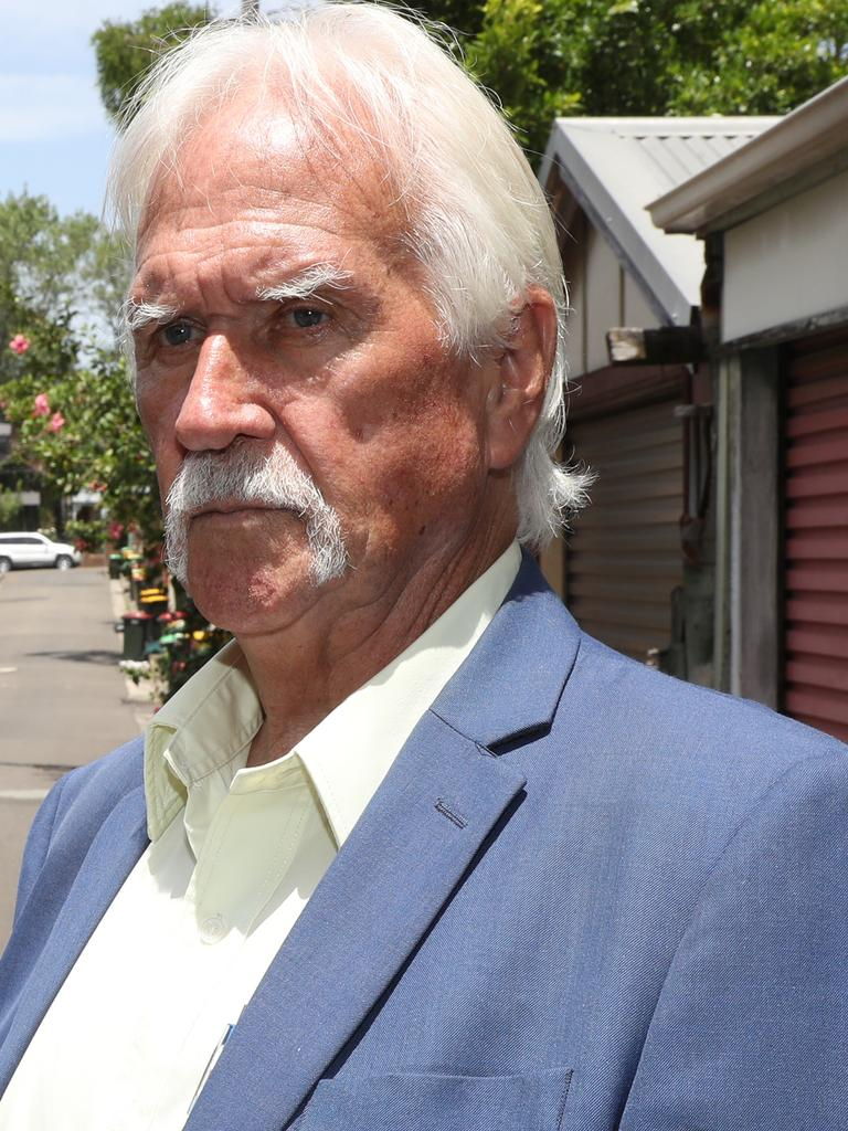 Bernie Matthews says his criminal days are well behind him. Picture John Grainger